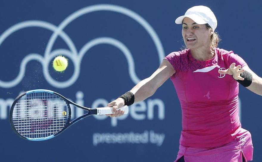 Jucătoarea română de tenis Monica Niculescu.