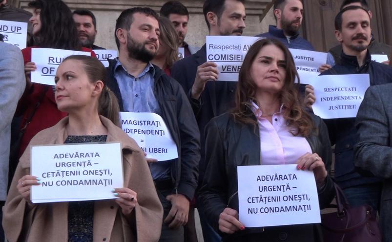 Protest al magistraţilor