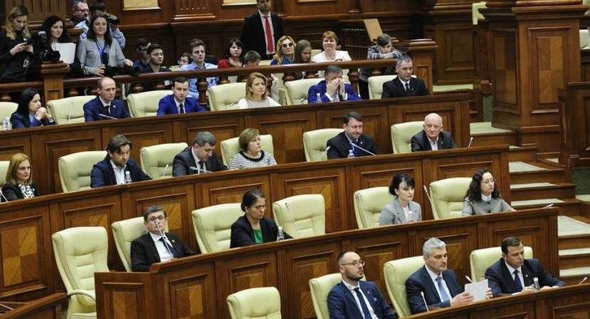 Deputaţi ai Blocului ACUM în Parlamentul Republicii Moldova