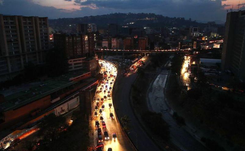 Pană de curent în Caracas, capitala Venezuelei, 9 martie 2019