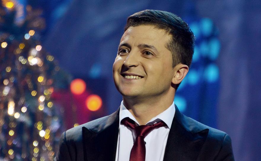 Comediantul ucrainean Vladimir Zelenski