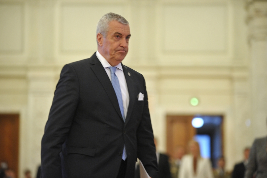 Preşedintele ALDE, Călin Popescu Tăriceanu
