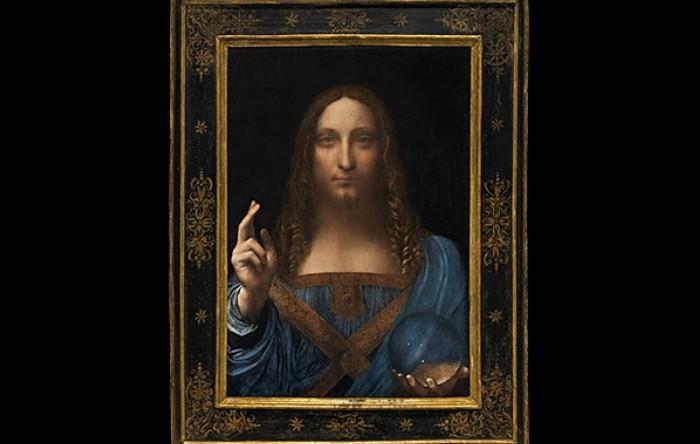 """""""Salvator Mundi"""" di Leonardo da Vinci"""