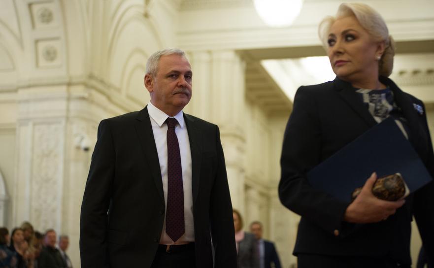 Liviu Dragnea şi Viorica Dăncilă