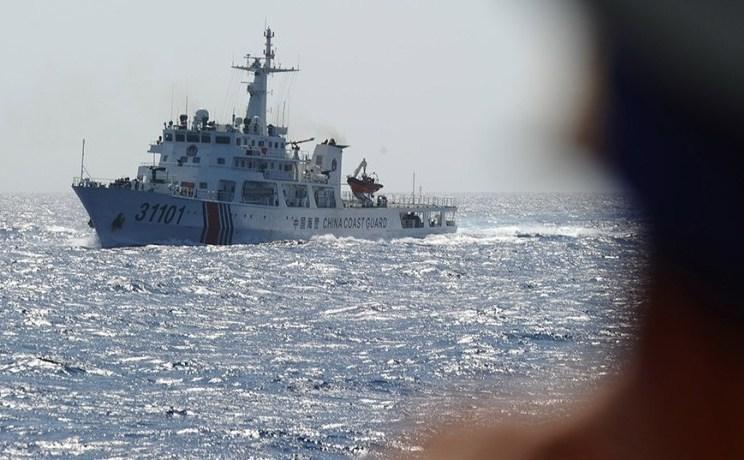 Ambarcaţiune a Pazei de Coastă chineze în Marea Chinei de Sud