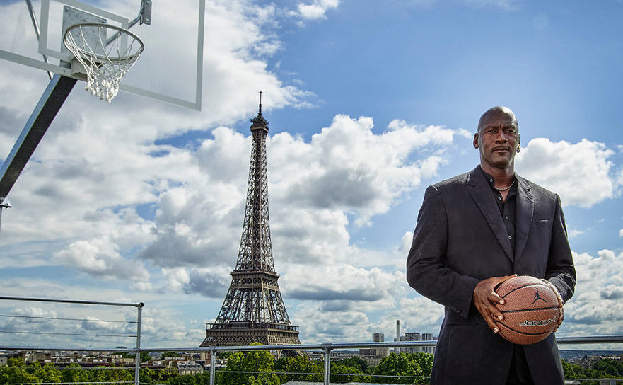 Fostul super-star al NBA, Michael Jordan.