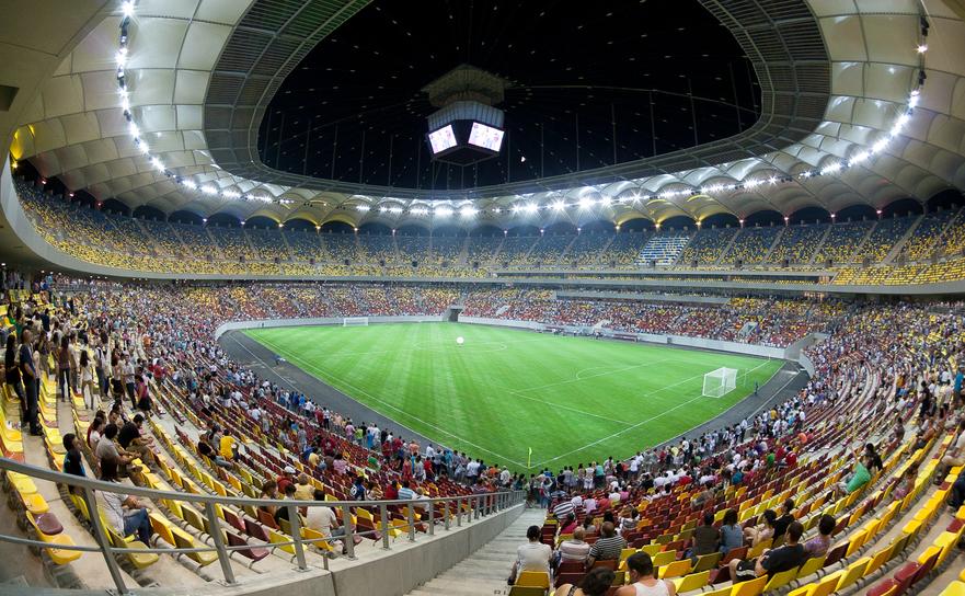 Arena Naţională din Bucureşti.