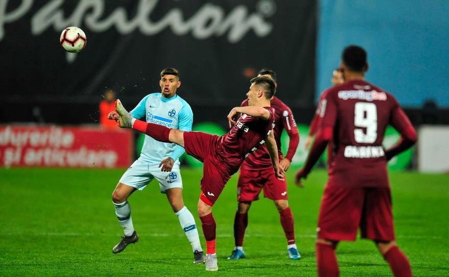 CFR Cluj - FCSB, 0-0, duminică seara, la  Cluj-Napoca, în etapa a cincea a fazei play-off a Ligii I  de fotbal.