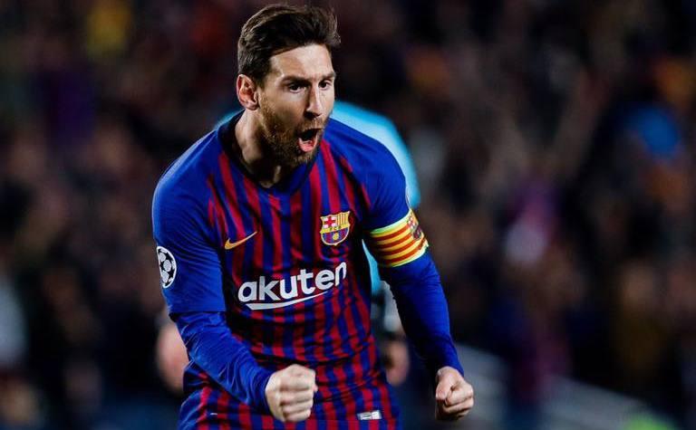 Starul argentinian Lionel Messi.