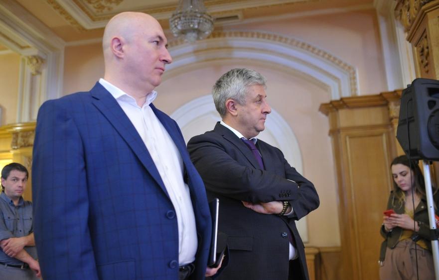 Codrin Stefanescu si Florin Iordache