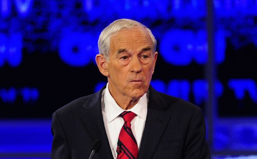 Fostul congressman din Texas Ron Paul