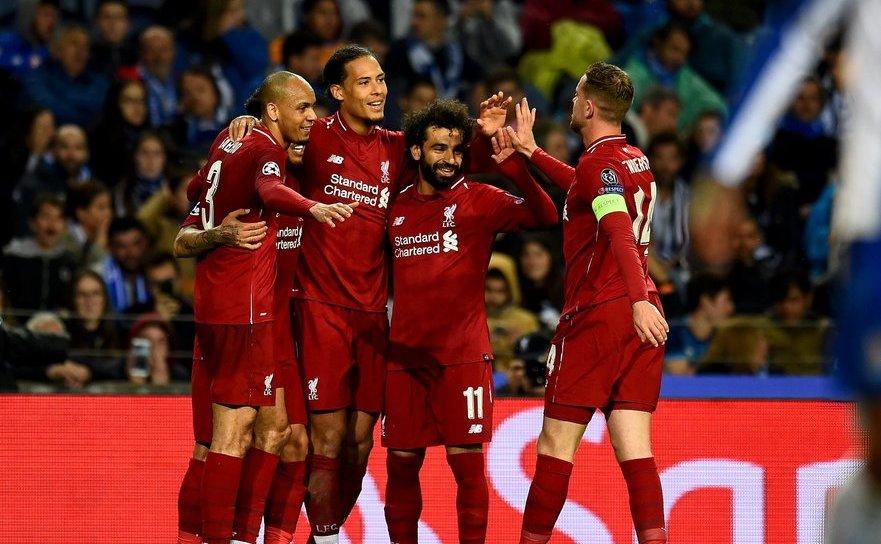 Liverpool a dispus de FC Porto cu scorul de 4-1, miercuri   seara, în deplasare, în returul sferturilor de finală ale UCL.