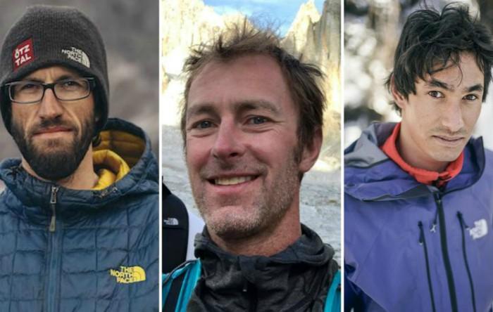 Hansjörg Auer, Jess Roskelly şi David Lama