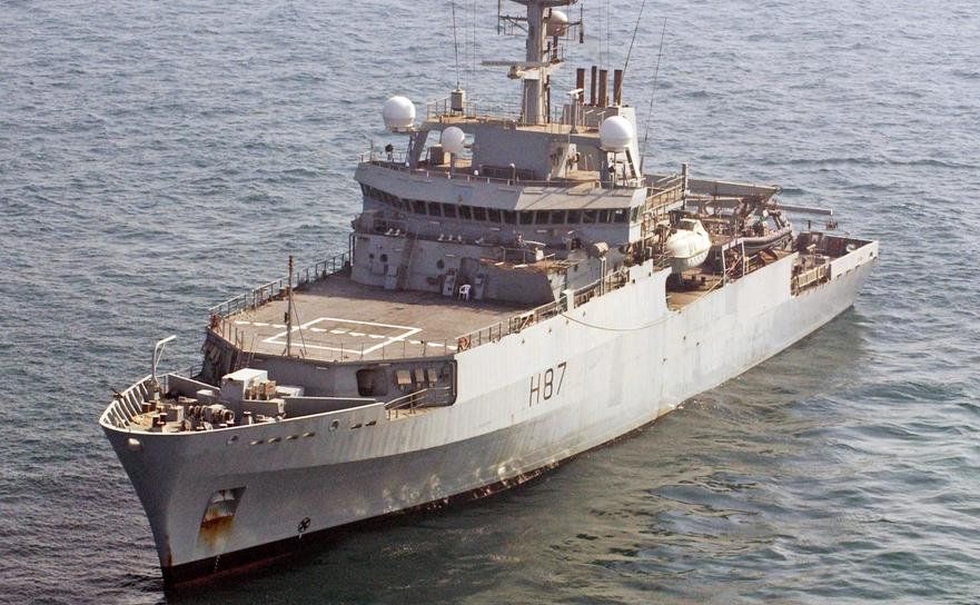 Nava HMS Echo a Marinei Regale britanice