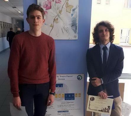 Victor Şera obţine premiul I la Olimpiada Certamen Horatianum din Italia