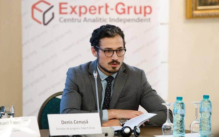 Dionis Cenuşă, politolog din R. Moldova