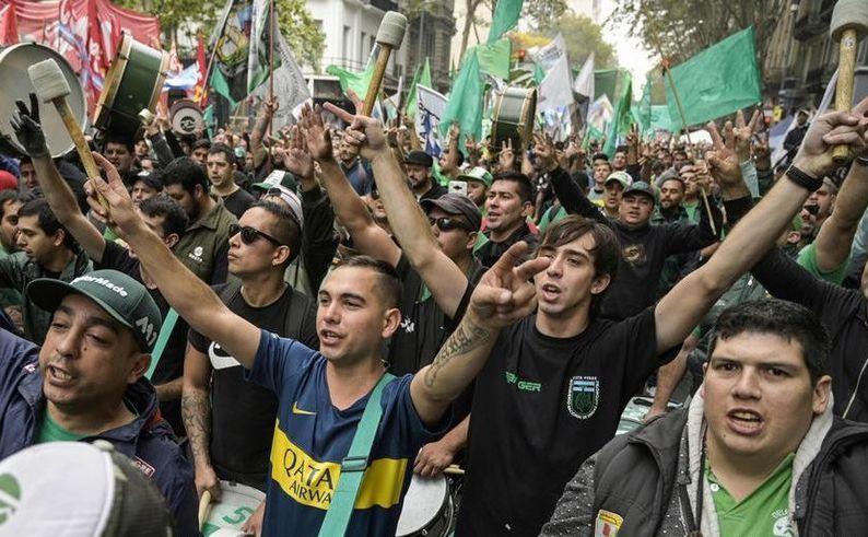 Protest anti-guvern în Buenos Aires, Argentina, 30 aprilie 2019