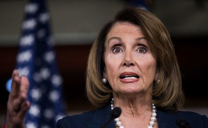 Preşedinta Camerei Reprezanţilor din SUA, Nancy Pelosi