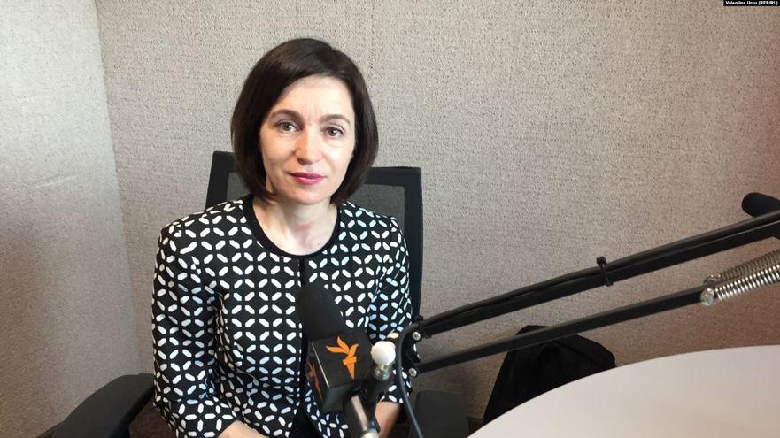 Maia Sandu, preşedinta Partidului Acţiune şi Solidaritate