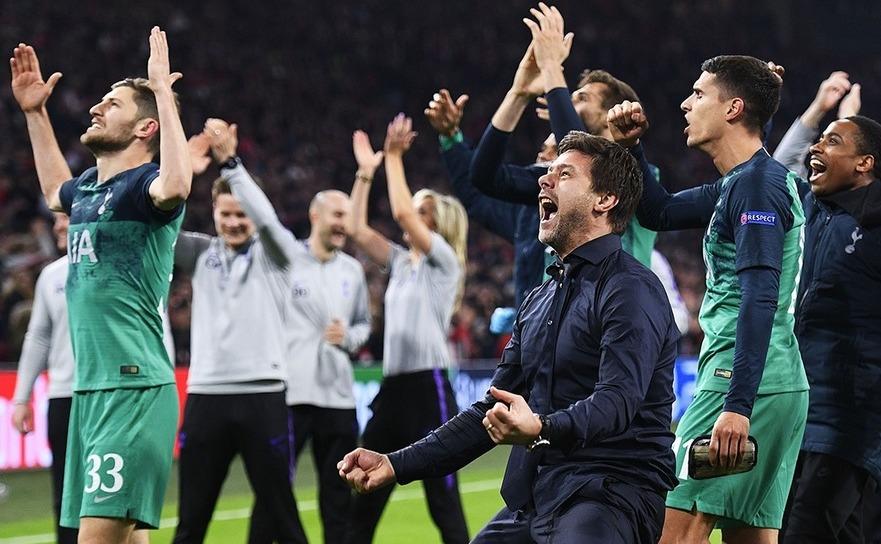 Tottenham Hotspur, în finala   Ligii Campionilor după 3-2 cu Ajax Amsterdam.