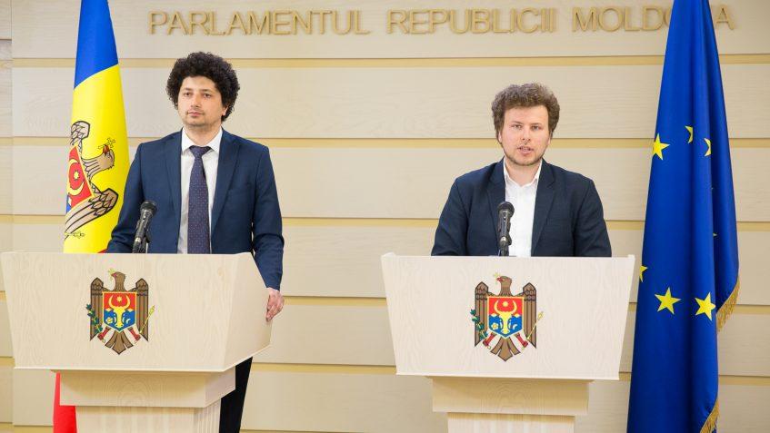 Radu Marian şi Dan Perciun, deputaţi PAS