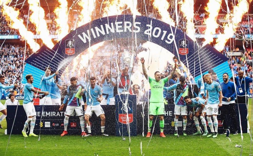 Manchester City a cucerit Cupa Angliei la fotbal.