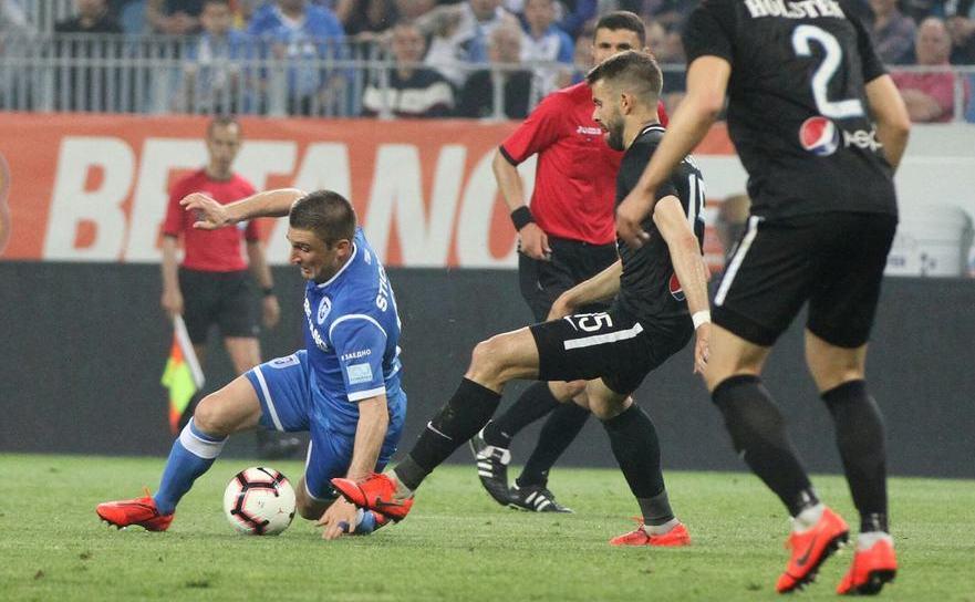 FC Viitorul Constanţa - Universitatea Craiova 2-1 (0-1)