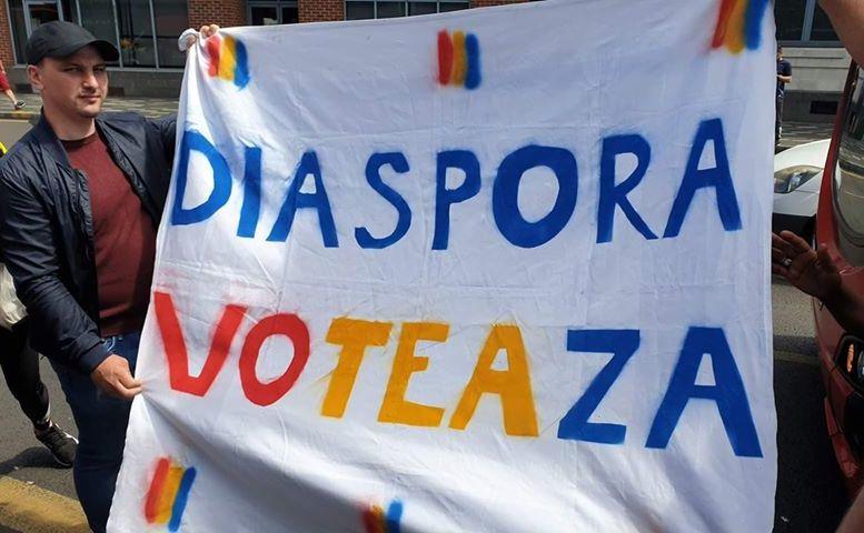 Diaspora a iesit la vot