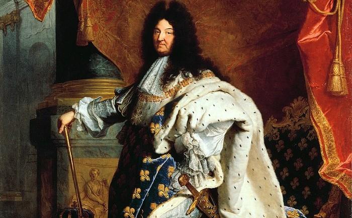 Regele Ludovic al XIV-lea al Franţei