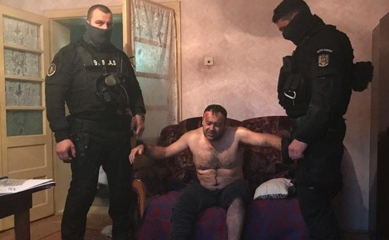 Ucigasul politistului din Timis prins