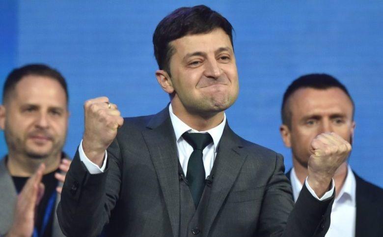 Preşedintele ucrainean Vladimir Zelenski