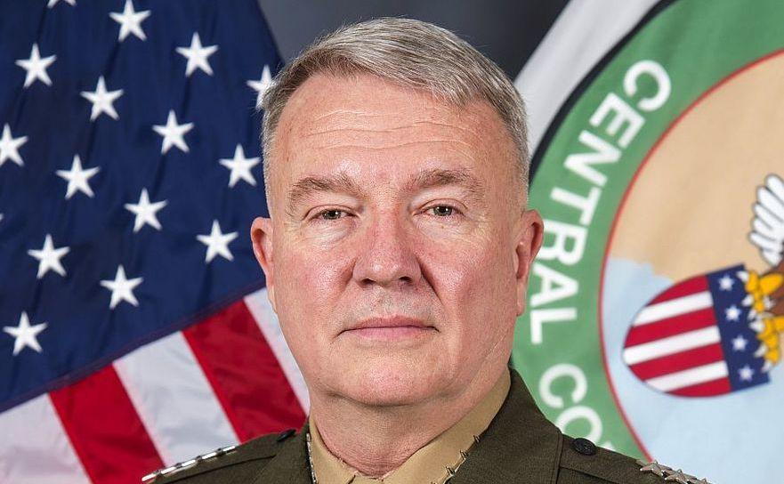 Kenneth Franklin McKenzie, şeful Comandantului Central al armatei americane