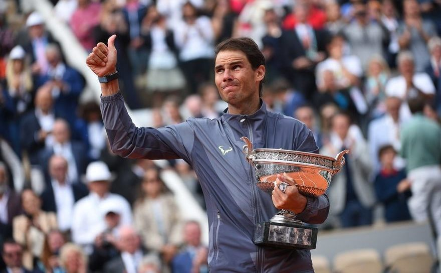 Jucătorul spaniol de tenis Rafael Nadal.