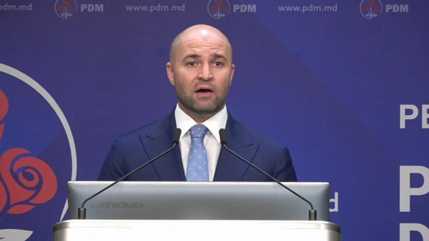 Vladimir Cebotari, în cadrul briefing-ului de marţi