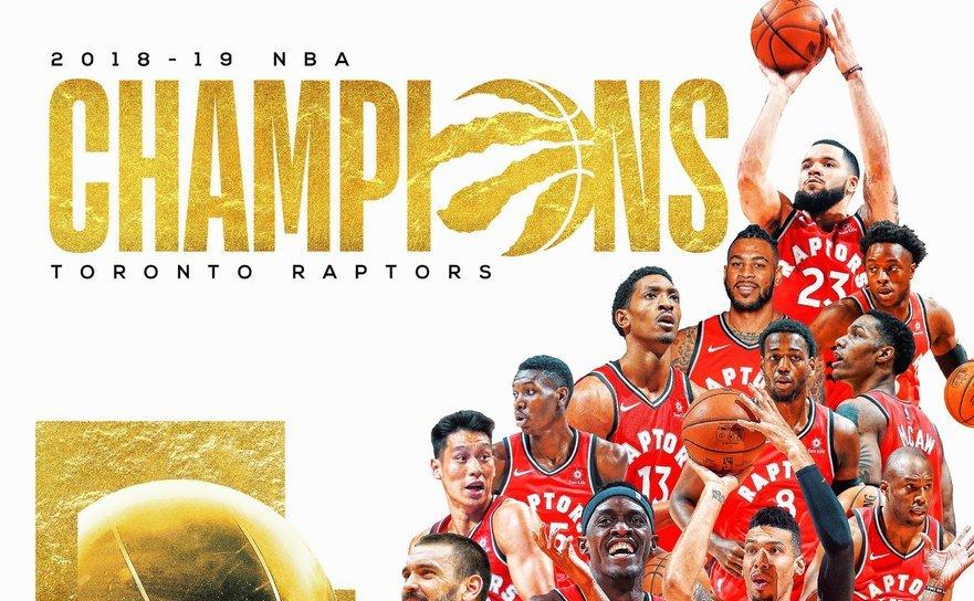 Toronto Raptors pentru prima oară campioană a NBA.