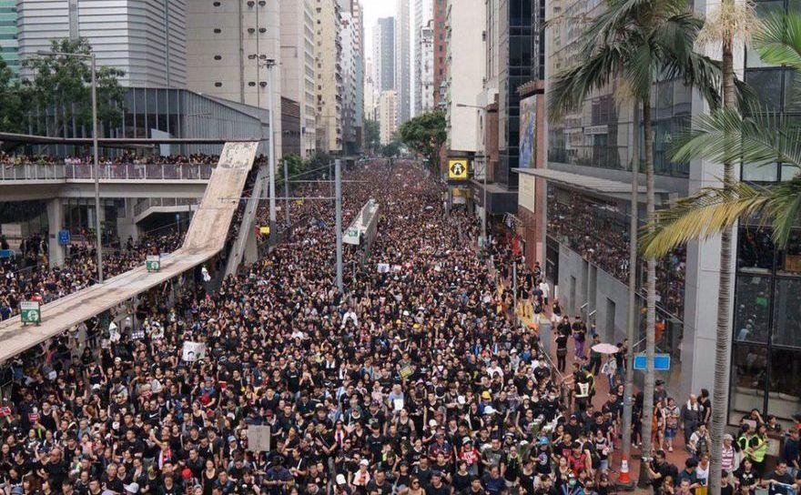 Protest în Hong Kong împotriva guvernului