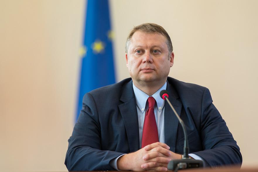 Vadim Brînzan, ministrul Economiei şi Infrastructurii din R. Moldova