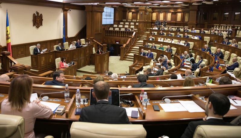 Parlamentul R. Moldova format în baza alegerilor din 24 februarie 2019
