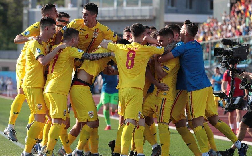 România - Croaţia 4-1 (2-1) în Grupa C  a Campionatului European de fotbal Under-21 din Italia şi San Marino.