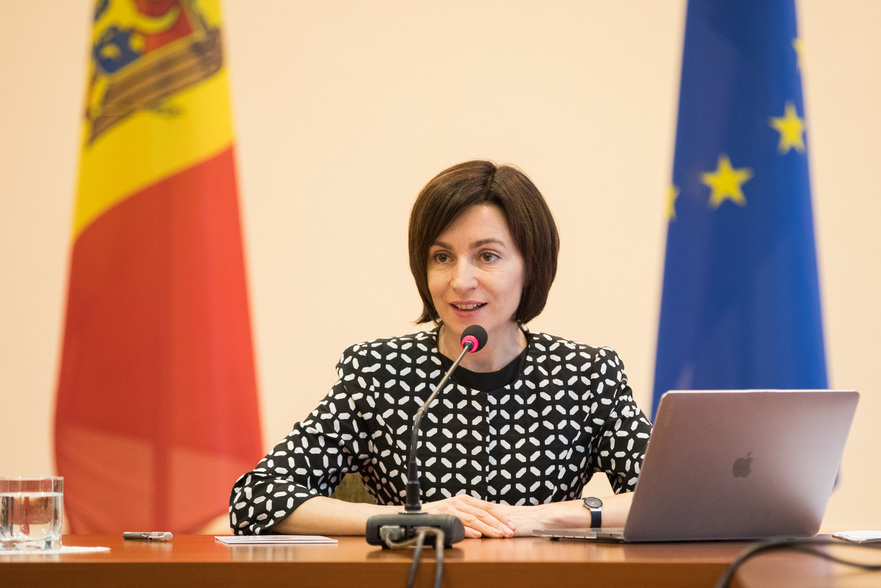 Maia Sandu, premierul R. Moldova