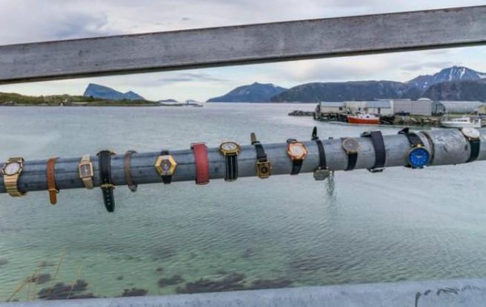 Podul din insula Sommarøy, Norvegia