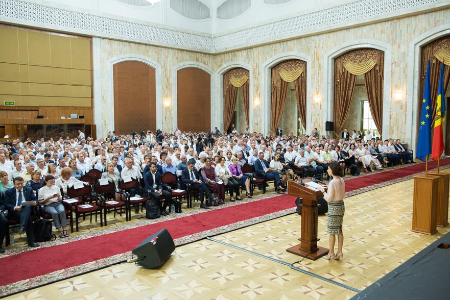 Maia Sandu la întâlnire cu primarii din R. Moldova, 21.06.2019