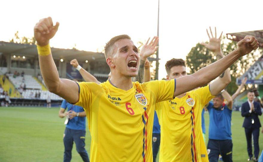 Bucuria tricolorilor după victoria obţinută în faţa englezilor la EURO U21.