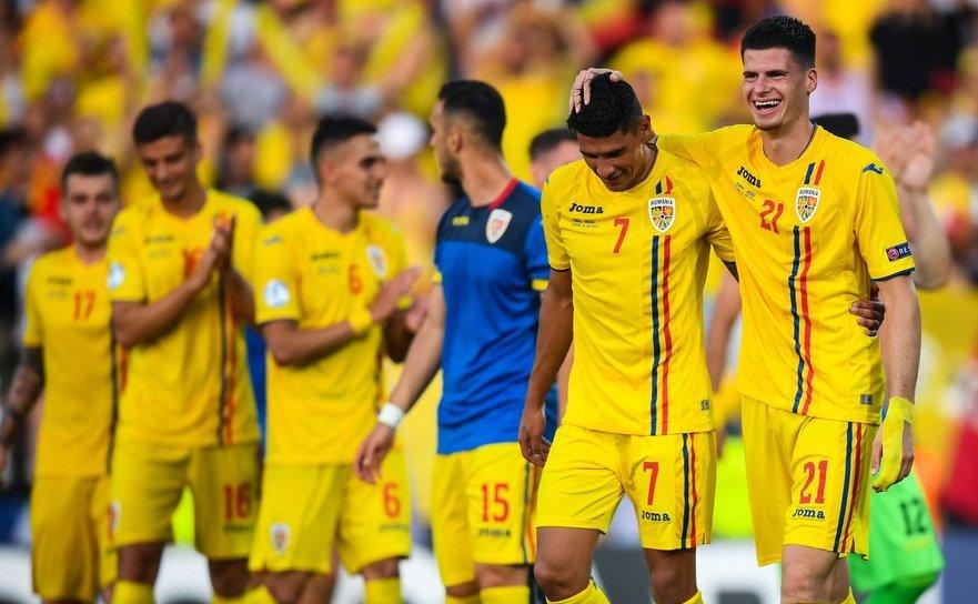 Naţionala României victorie admirabilă în faţa Angliei cu scorul de 4-2 (0-0).