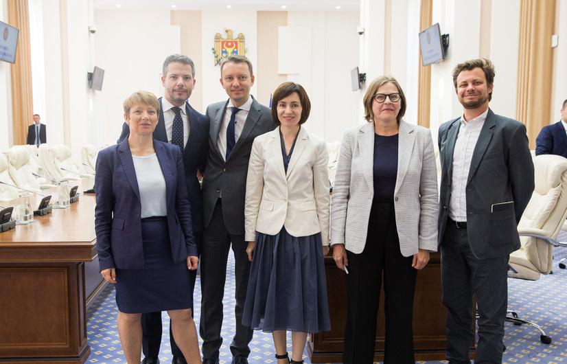 Delegaţia Parlamentului European în vizită la Chişinău, 24.06.2019