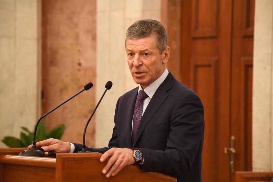 Dmitri Kozak, vicepremierul Federaţiei Ruse