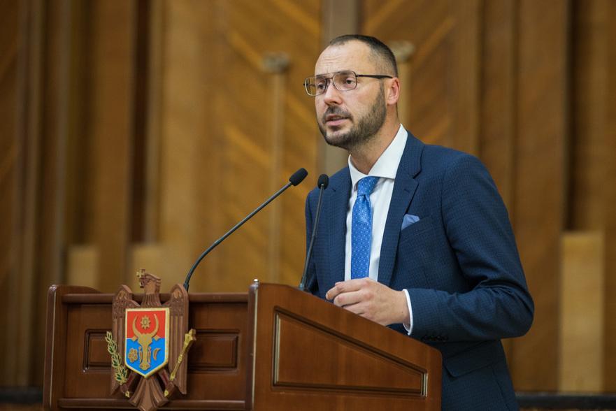 Sergiu Litvinenco, deputat PAS în Parlamentul R. Moldova