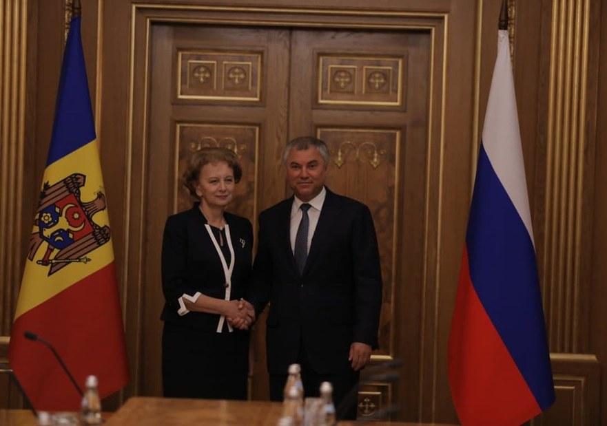 Zinaida Greceanii şi Veaceslav Volodin