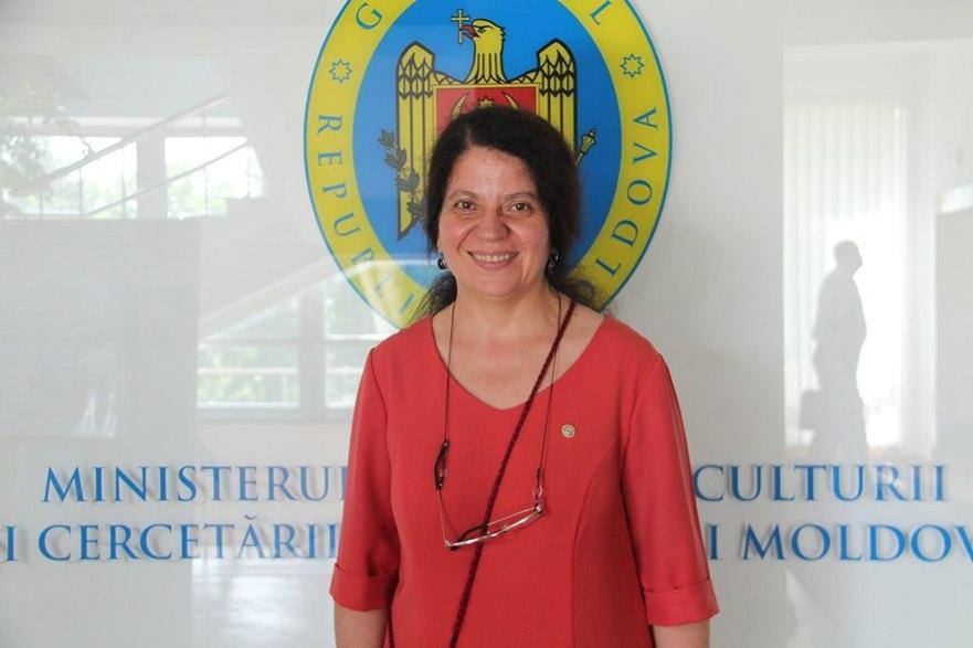 Liliana Nicolaescu-Onofrei, ministru al Educaţiei, Culturii şi Cercetării din R. Moldova
