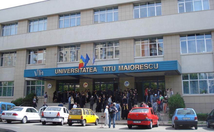 Universitatea Titu Maiorescu, din Bucuresti